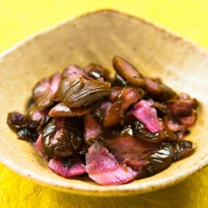 胡瓜の赤紫蘇漬